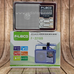 Speaker Radio dan MP3 Mini FLECO F-221UD