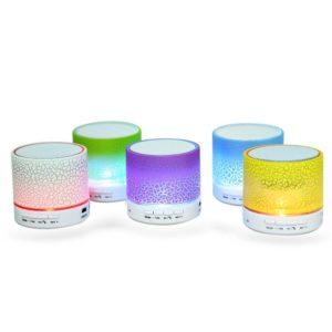 Speaker Bluetooth Portable Mini LED