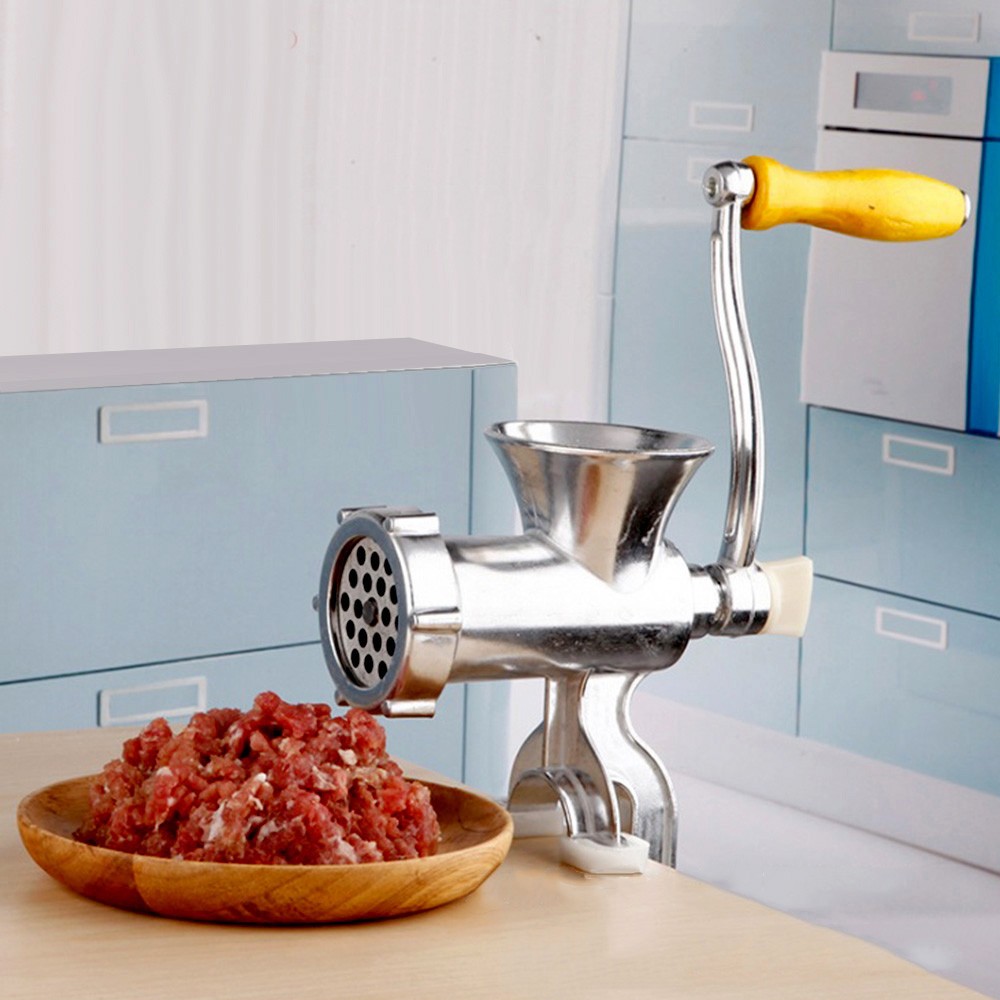 Mincer Multiuse Penggiling Giling Daging Sayur Buah Beras Meat Alat Dagingsayurbuah Grinder Manual Gilingan Serbaguna Besi Gen 2 Home Rumah