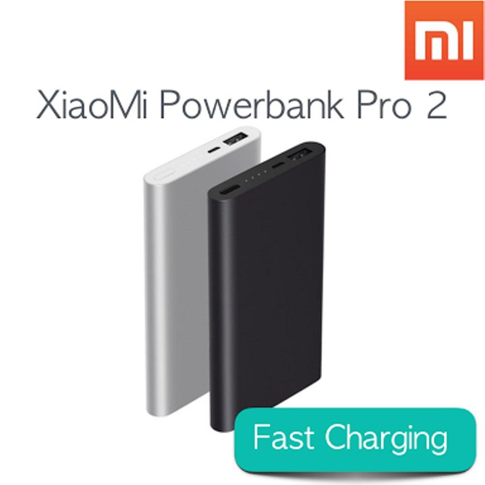 Power Bank Powerbank Xiaomi Mi Pro 2 10000mah Fast Charge Original Robot Rt7200 6600mah